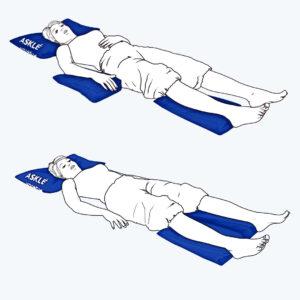 Poduszki pozycjonujące. Praktyczne przykłady ułożenia pacjenta