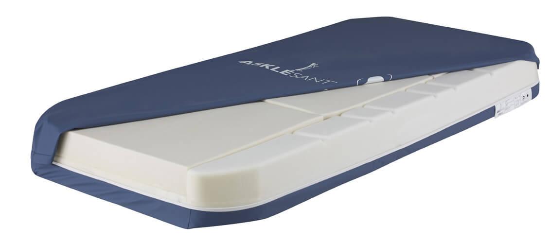 Opieka nadosobą leżącą wdomu: materac piankowy Alova
