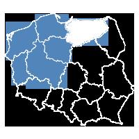 Dariusz Bogdanowicz: lubuskie, zachodnio-pomorskie, pomorskie, kujawsko-pomorskie, wielkopolskie