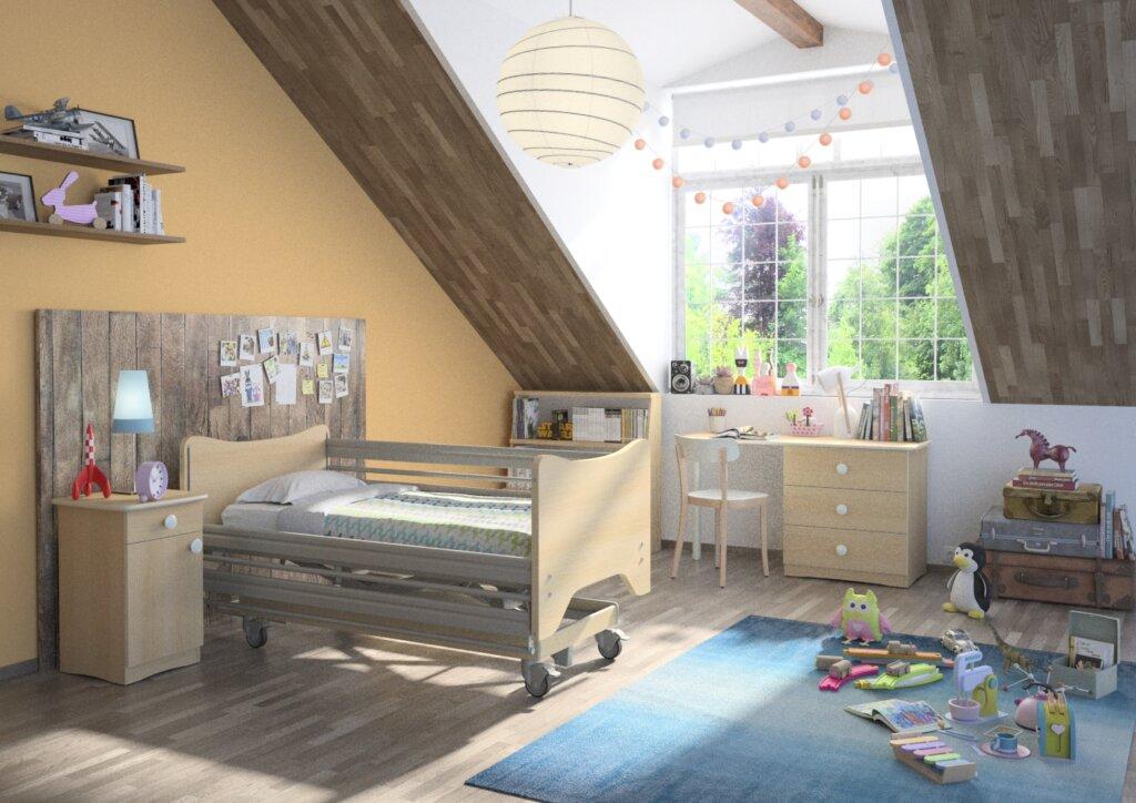 łóżeczko dla dziecka niepełnosprawnego