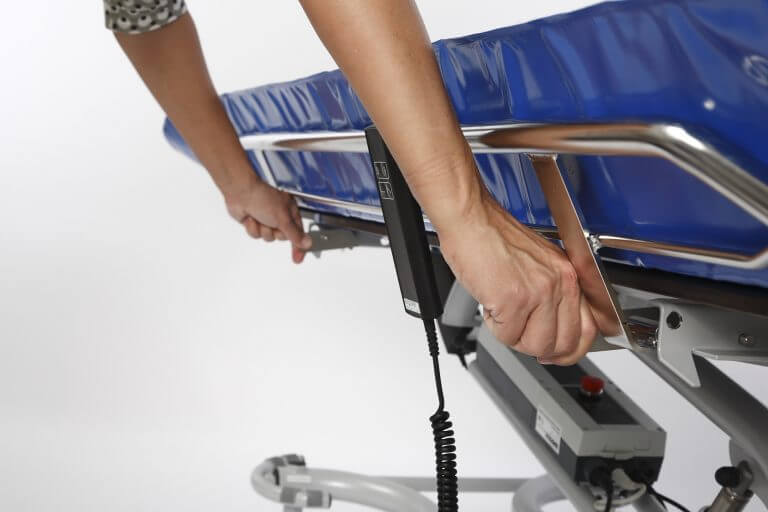 wózkowanna lambda Winncare urządzenia kąpielowo-toaletowe dlaosób zniepełnosprawnością ruchową